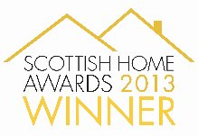 2013 Scottish Home Awards Winner logo
