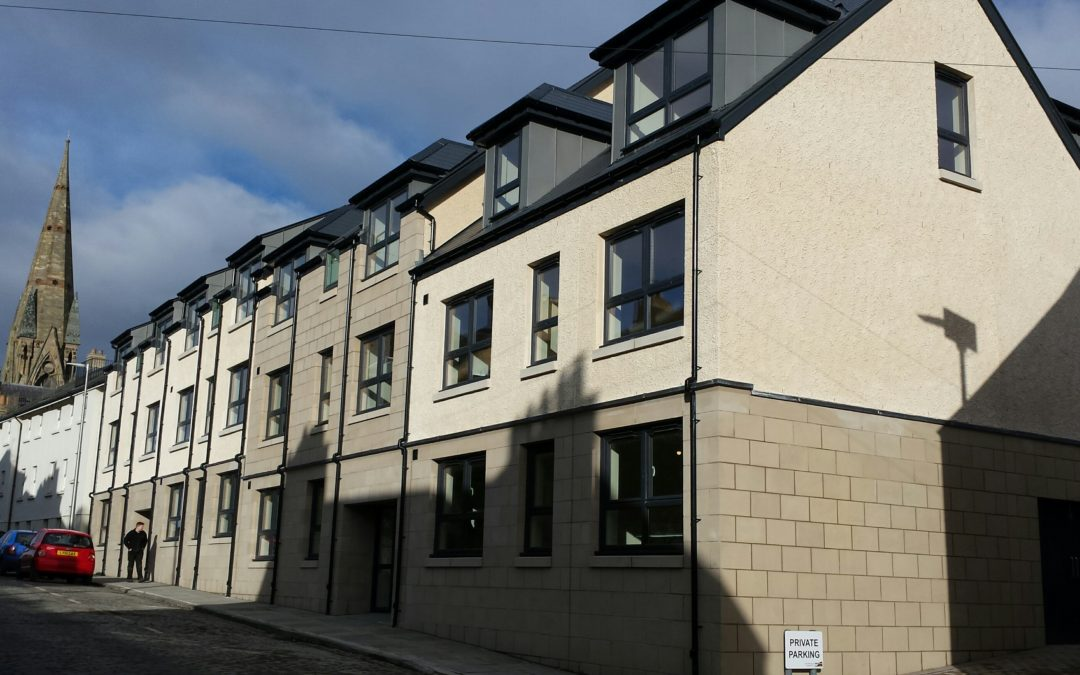 Affordable housing project in Kelso receives Commendation at the recent Homes For Scotland awards